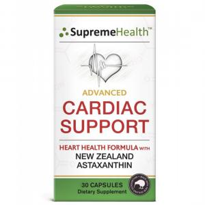 【30粒】天然虾青素 心脏配方 SupremeHealth Advance Cardiac Support