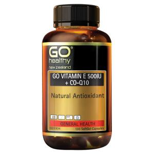 高之源 维生素E+辅酶Q10 Go Healthy Go Vitamin E 500IU+CO-Q10 130粒