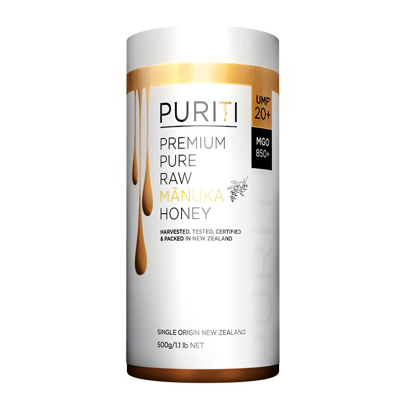 【20+ 500g】PURITI 麦卢卡蜂蜜 Premium Pure Raw Manuka Honey UMF20+/MGO850+