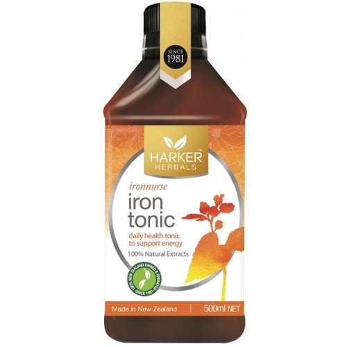 Harker Herbals 补铁汤力水 Formula 741 Iron Tonic 500ml