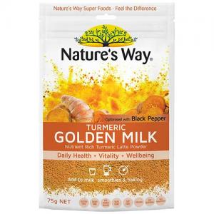 佳思敏 姜黄素粉 姜黄黄金奶 Natures Way Super Foods Turmeric Milk 75g