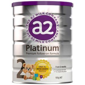 a2白金婴幼儿奶粉 二段 a2 Platinum Premium Follow-on Formula 6罐装